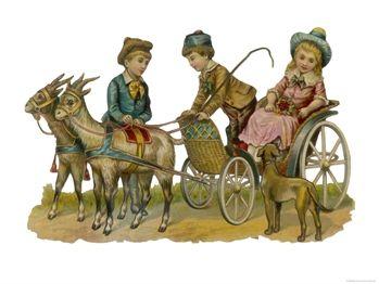A Goat Cart!