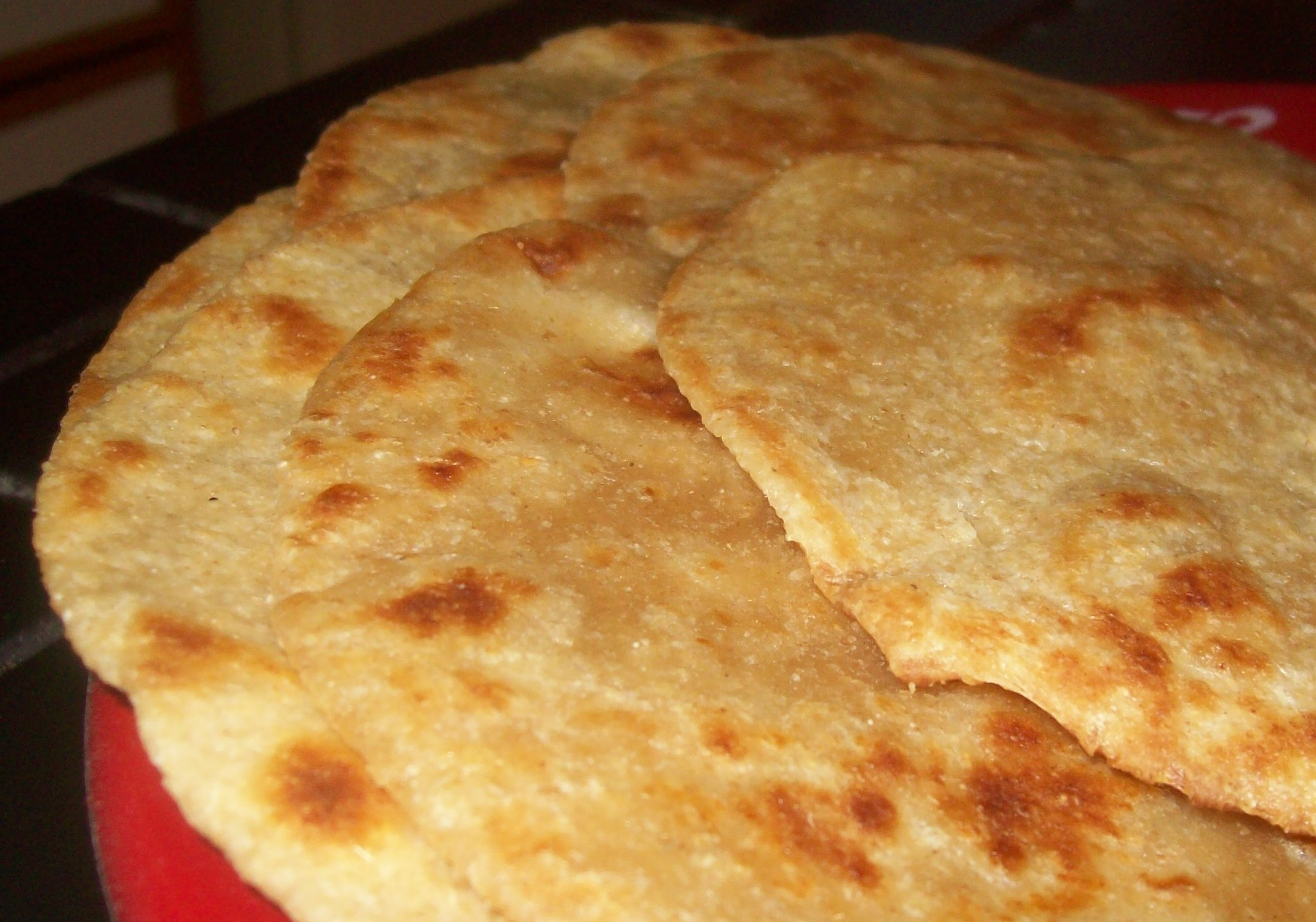 Crisp, fresh tortillas