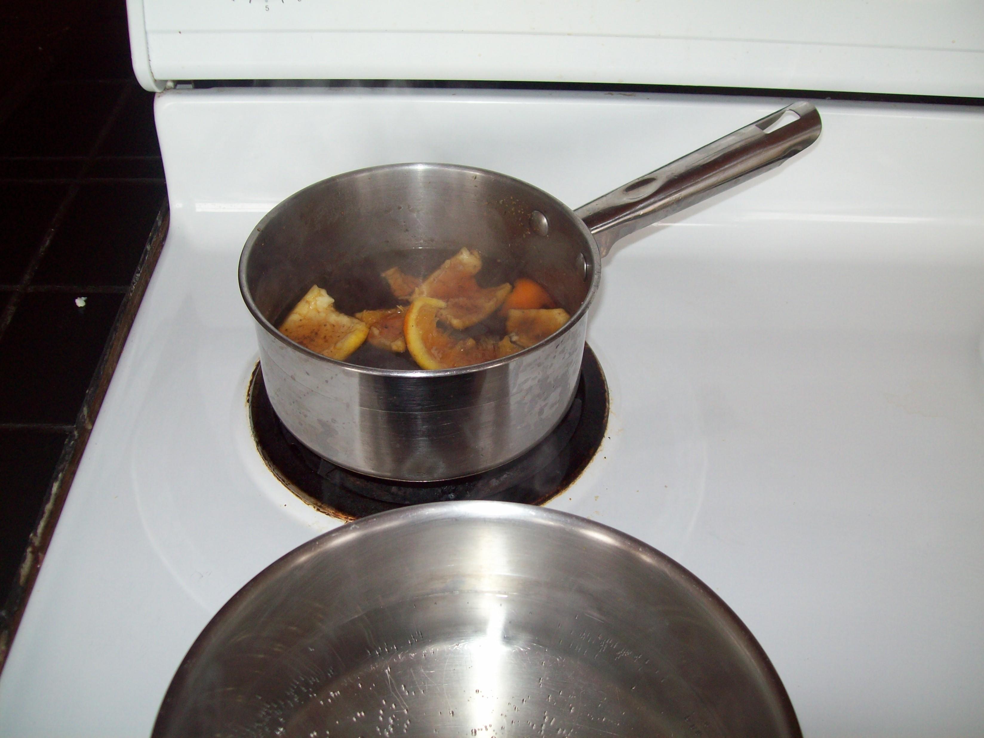 Air Freshener - Cloves, Cinnamon Sticks, Leftover Orange Peels