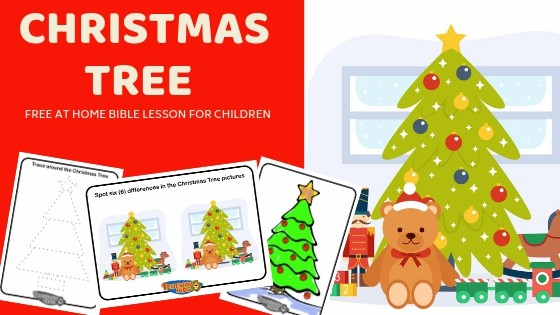 Christmas Tree – At home Bible Lesson for Children