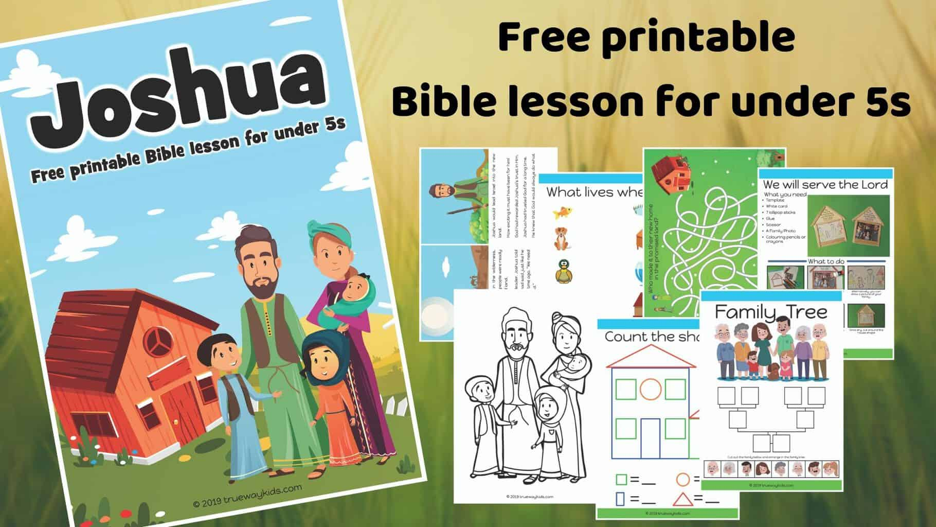 Joshua Bible lesson - Download - Trueway Kids