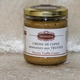 crème de cepes aromatisée aux truffes