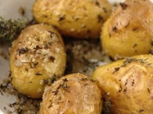 pomme de terre fourrée à la truffe