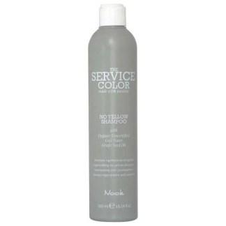 Nook The Service Color Regenerating No-Yellow Shampoo - Шампунь от желтизны