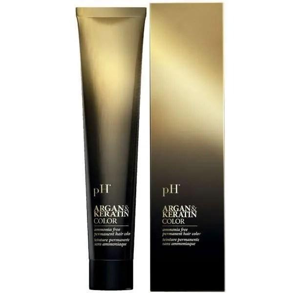 pH Argan and Keratin Крем-гель краска для волос без аммиака