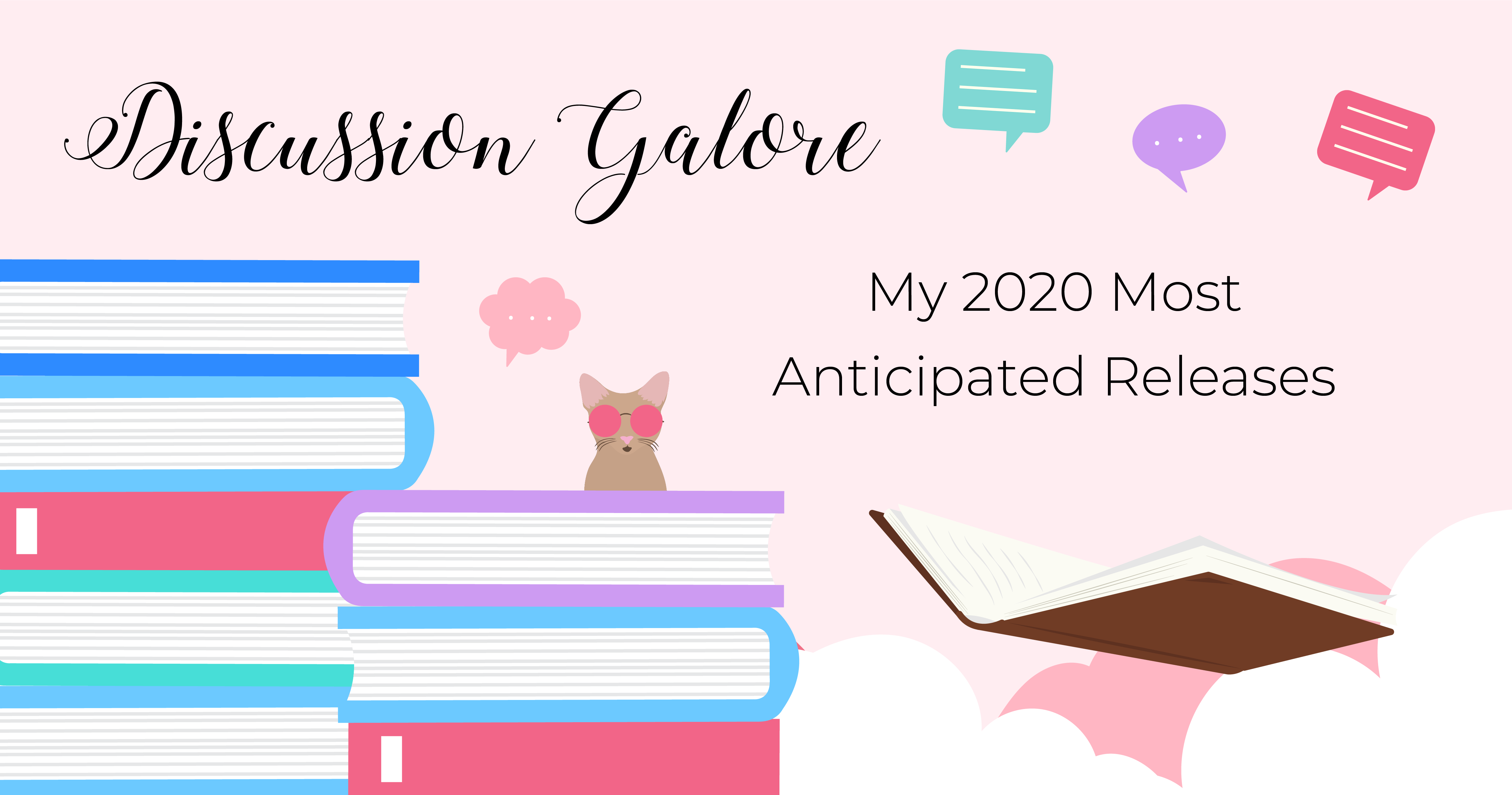 My 2020 Most Anticipated Releases