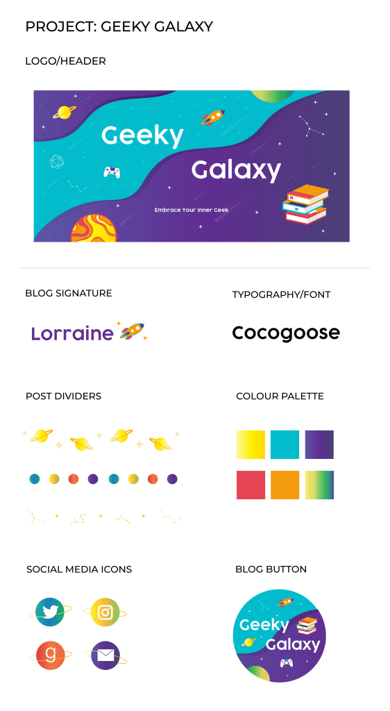 projectoverview portfoliopiece 562x1024 - Design Project: Geeky Galaxy