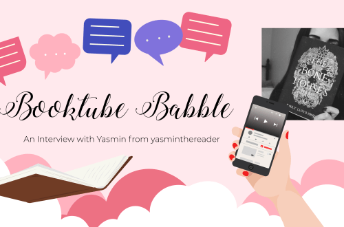 booktube yasmin - Booktube Babble: An Interview with Yasmin from yasminthereader