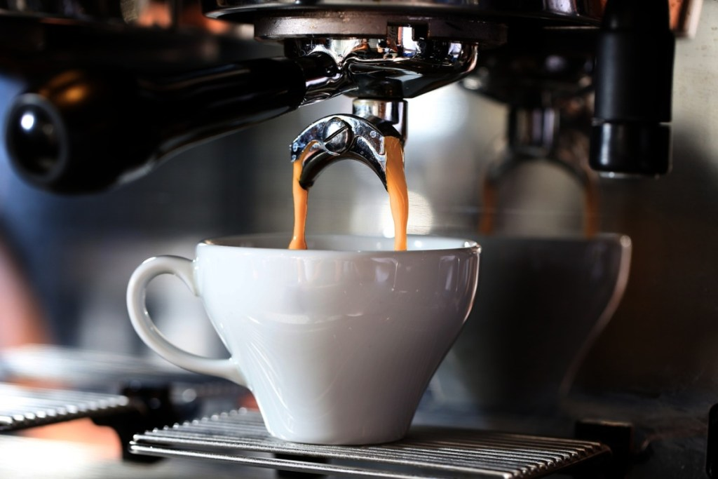 Picture of a shot of espresso