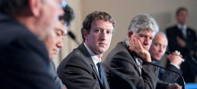 Facebook CEO Mark Zuckerberg Press conference at the summit G8/G20 about new technologies - Deauville, France on May 26 2011 (Shutterstock)