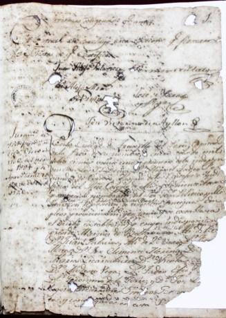 acta trujillo 6-1-1821 anverso