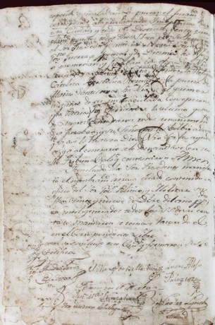 acta trujillo 6-1-1821 reverso