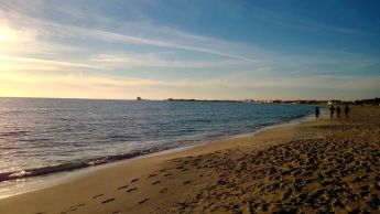 Winter Beach at the 'maldive del sud'