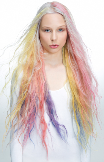 Rainbow-hair-with-Fudge-Paintbox