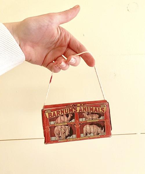 animal cracker box to make