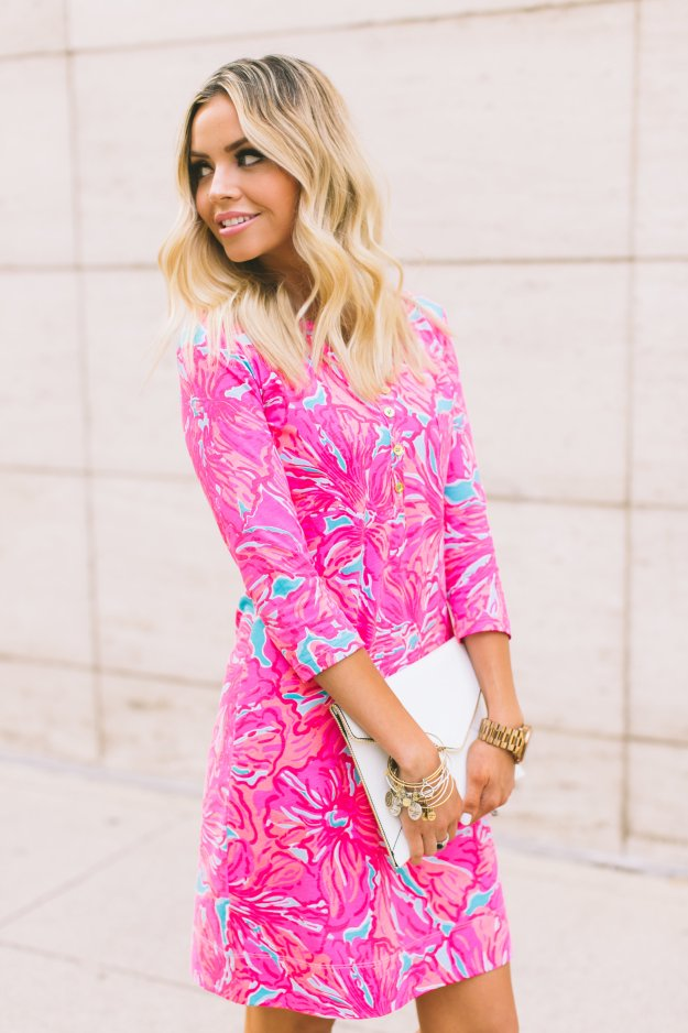 Hot Pink Dress For Summer