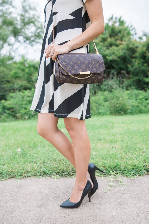 Truly_Destiny_Stripe_Dress_Sun_Hat_Black_And_White
