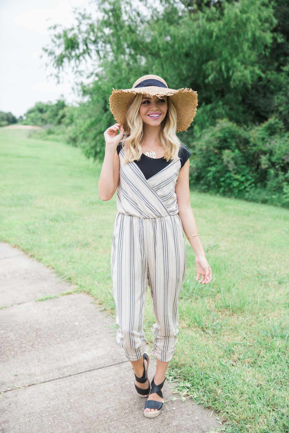 Truly_Destiny_Nordstrom_Striped_Jumpsuit_And_Hat