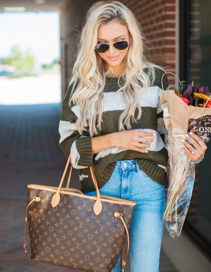 The Perfect Fall Striped Sweater