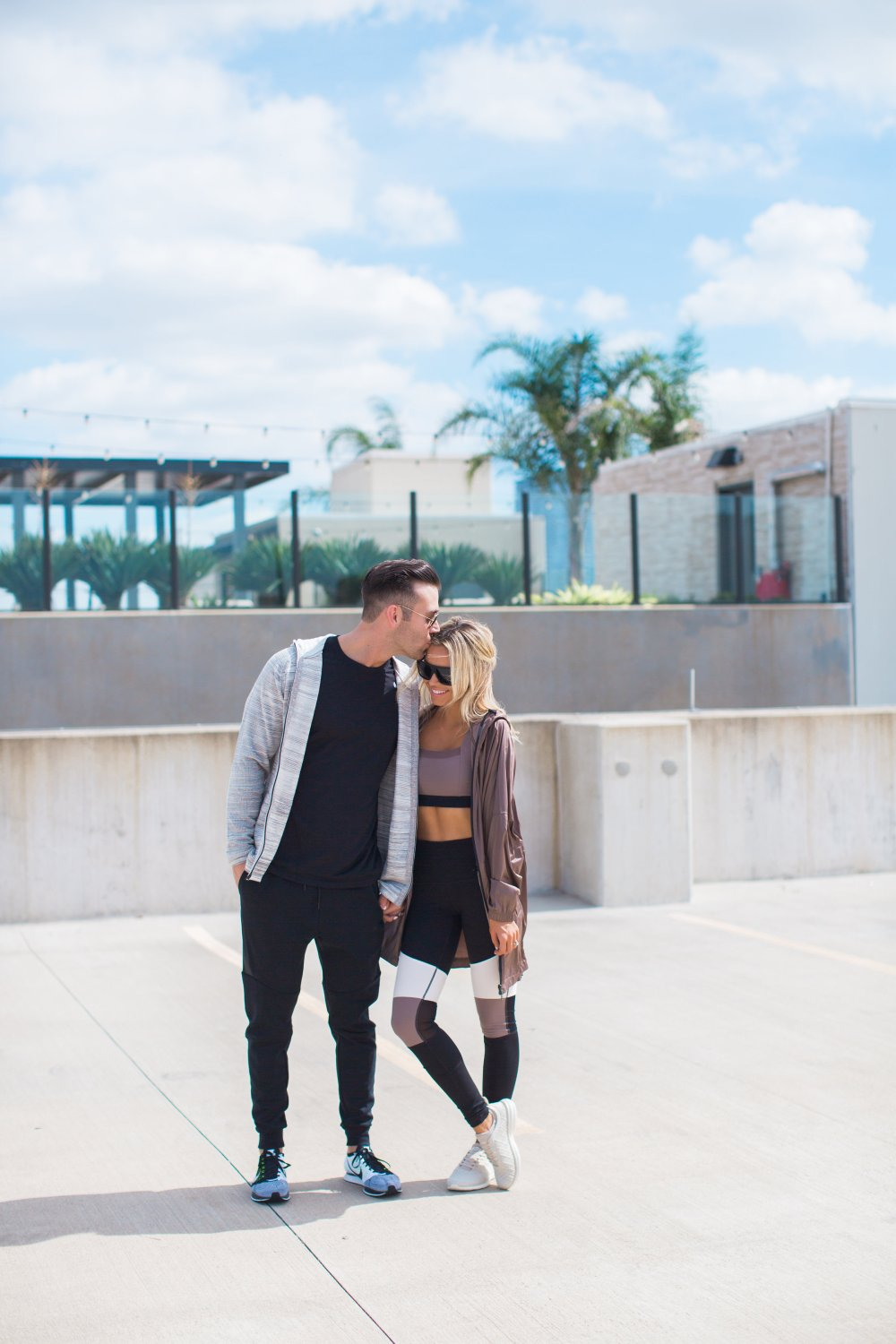 Couples who work out together, stay together! Men and women's workout style! Couple Activewear