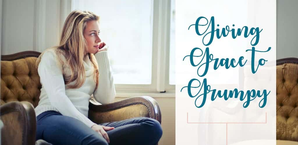 Giving Grace and understanding to a grumpy husband during frustration