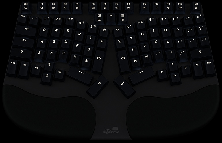 Truly Ergonomic Cleave Backlight