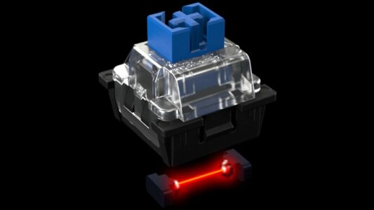 Truly Ergonomic - Optical Infrared Switch Clicky