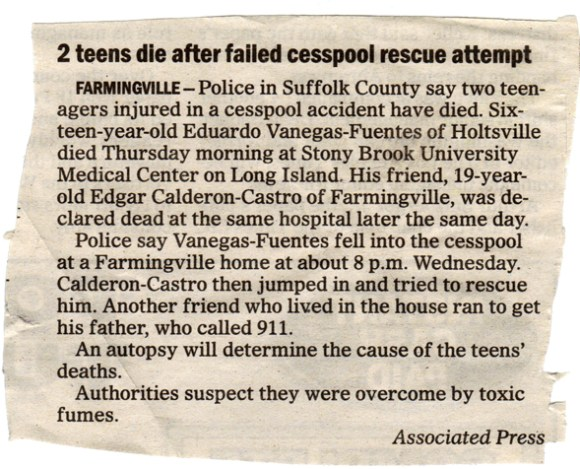 cesspool article