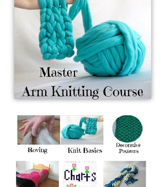 In Depth Arm Knitting Course