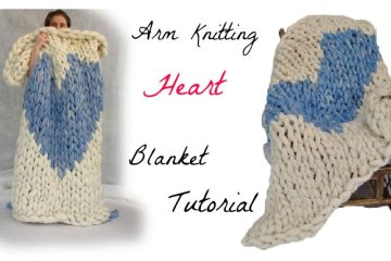 simply maggie arm knitting tutorial