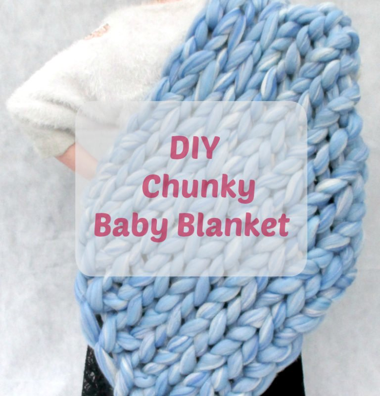 Baby Blanket Tutorial FAST, EASY and Super Chunky - Truly ...