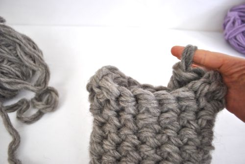 finger crochet for beginners