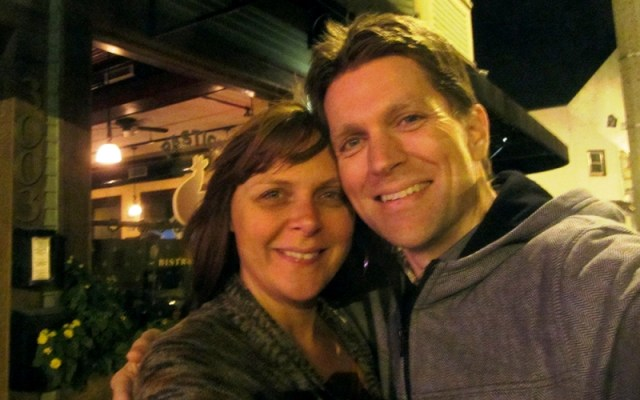 Karen and her husband have traveled the world together. Talk about things to be grateful for!