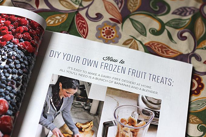 Naturally Danny Seo Frozen Fruit Dessert Article