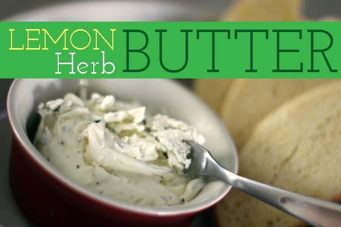 Lemon Herb Butter