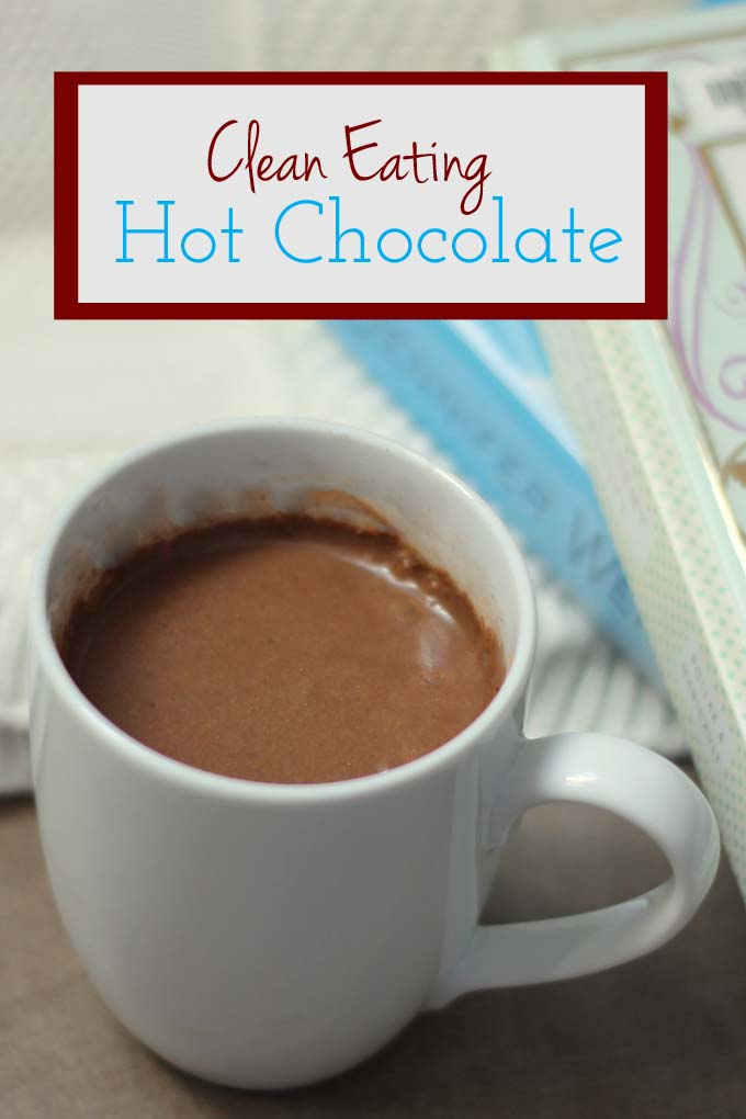 Clean hot chocolate is the perfect treat for the family when the weather is freezing!