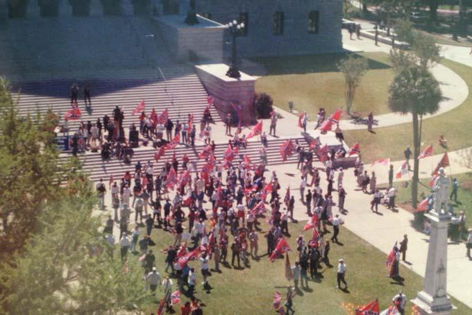Confederate Flag Protests 2000