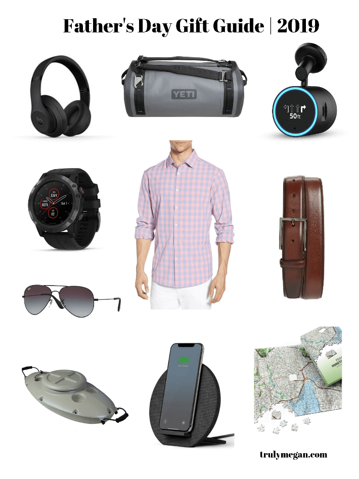 Dallas lifestyle blogger has curated her Father's Day Gift Guide for 2019.