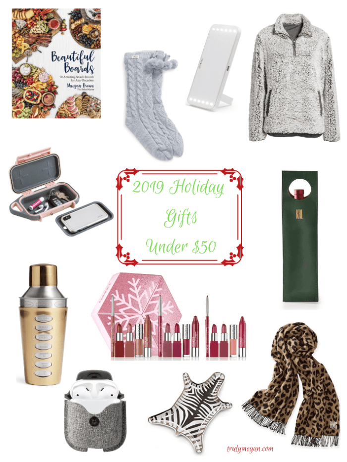 2019 Holiday Guide | Gifts Under $50 + Cyber Monday Shopping Guide
