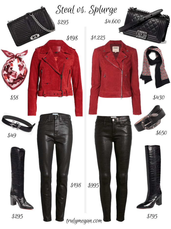 Steal vs. Splurge | Valentine's Day Outfit