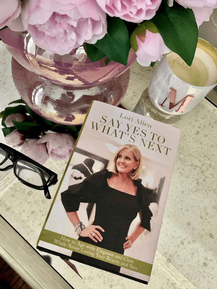 """Dallas lifestyle blogger shares her review of """"Say Yes To What's Next"""" by Lori Allen."""