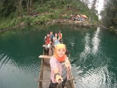DCIM100AKU dan teman-teman keliling Danau Gunung Tujuh. (FOTO: TIM KERINCI MEDAN)