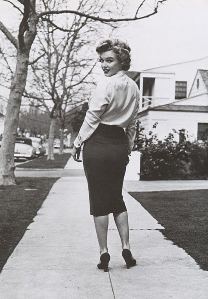 marilyn pencil skirt