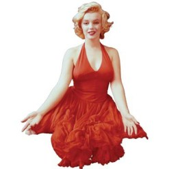 marilyn red dress
