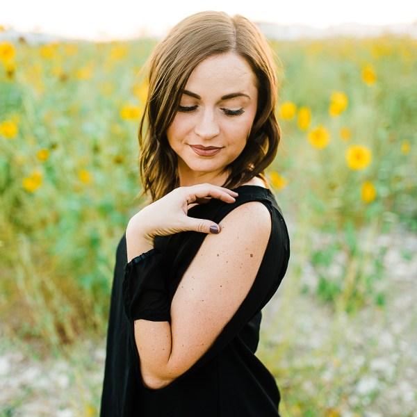 Sunflower Portrait Session | Mckenna