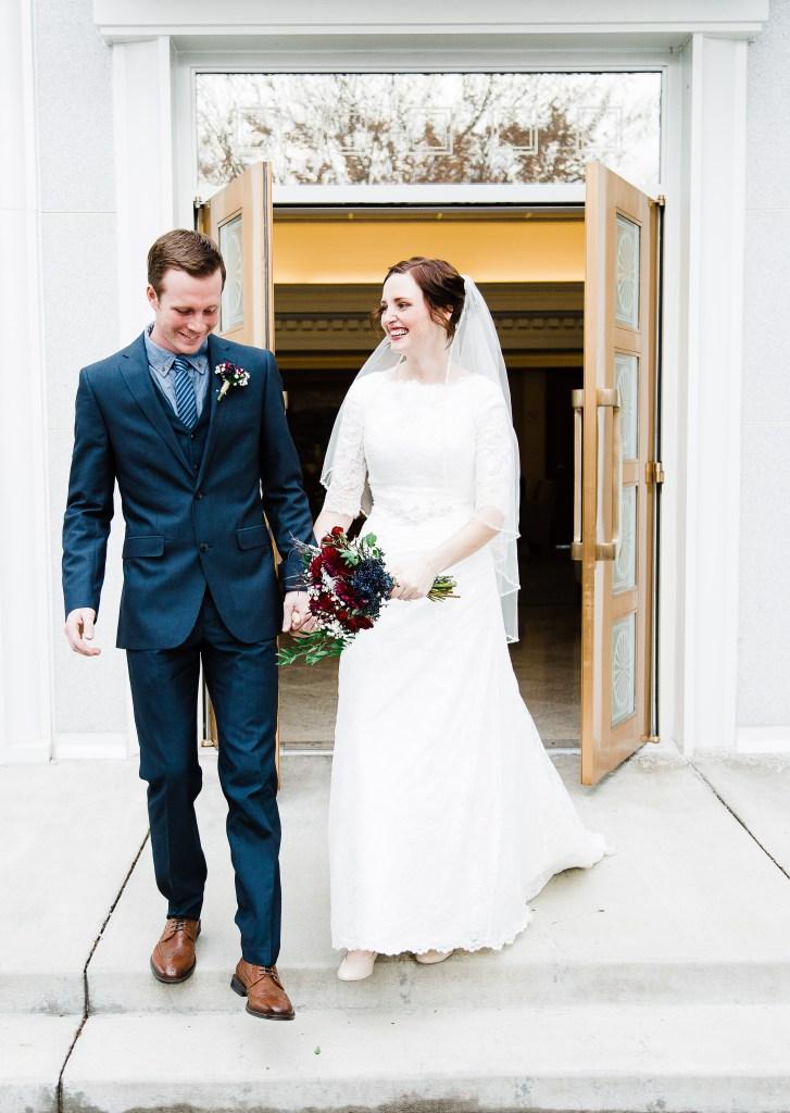 Smith | Mt. Timpanogos Temple Wedding | Utah Wedding Photographer