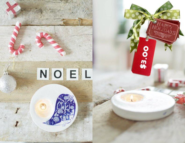 Noel Candle Holder