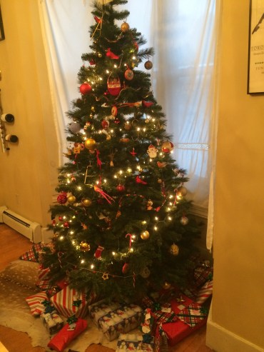 The completed tree