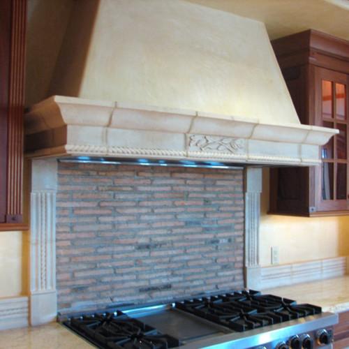 Kitchen hood_10 (Trumeau Stones)
