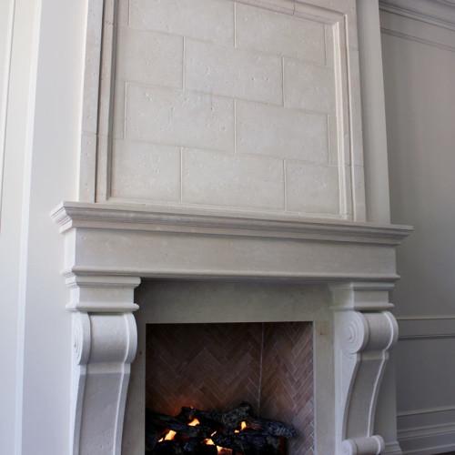 mantel design 25 (Trumeau Stones)